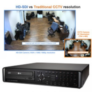 HD-SDI High Definition CCTV vs Traditional CCTV Cameras